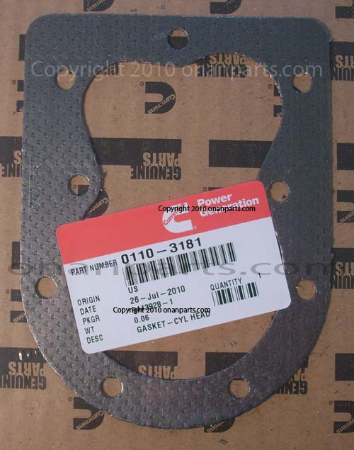 110-3181 Head Gasket CK, CCK, B & P Series