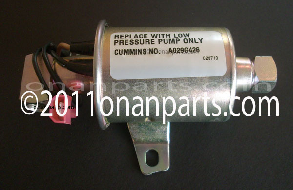 Onan 149-2331-03/A029G426 KVC/BGM Electric Fuel Pump