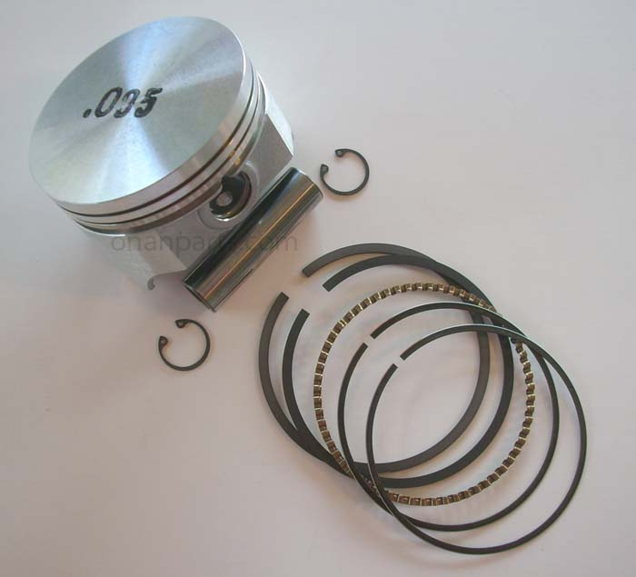 "Onan 112-0264-05 +.005"" Oversize Piston Kit B & P Series"