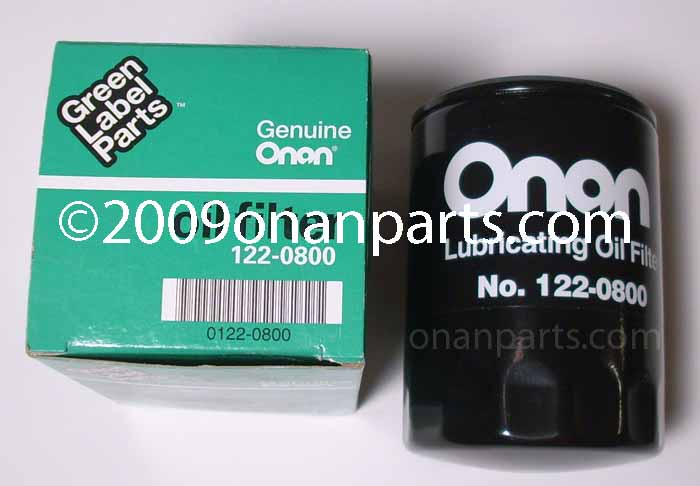 122-0800 Oil Filter CCK CCKA CCKB B, P & N Series.