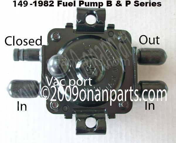 Onan 149-1982 Fuel Pump B & P Series