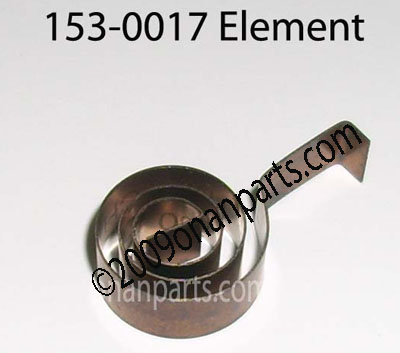 Onan 153-0017 Element Choke Thermostat CCK, N series etc.
