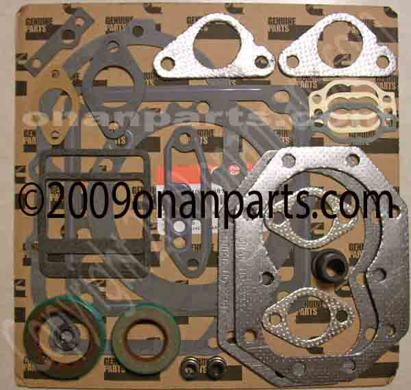 Onan 168-0191 Gasket Set For The P224G N52M LX990 & OL24