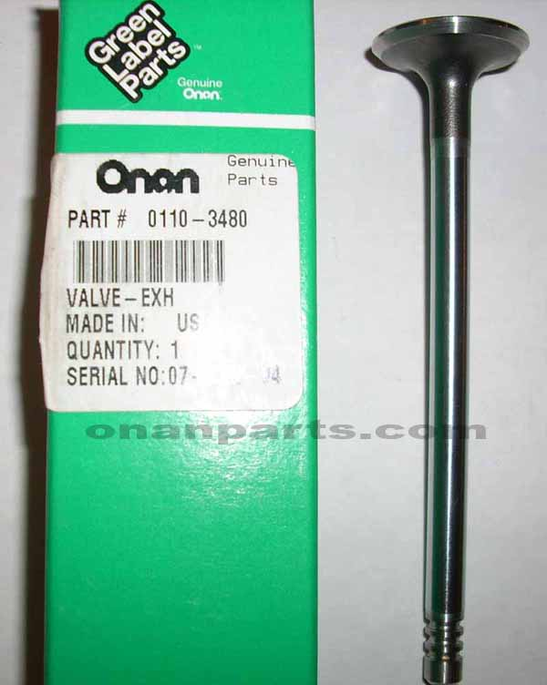 110-3480 New Exhaust Valve P216 P218 P220