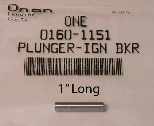 "Onan 160-1151 Plunger Ignition Breaker 1"" Long B & N Series"