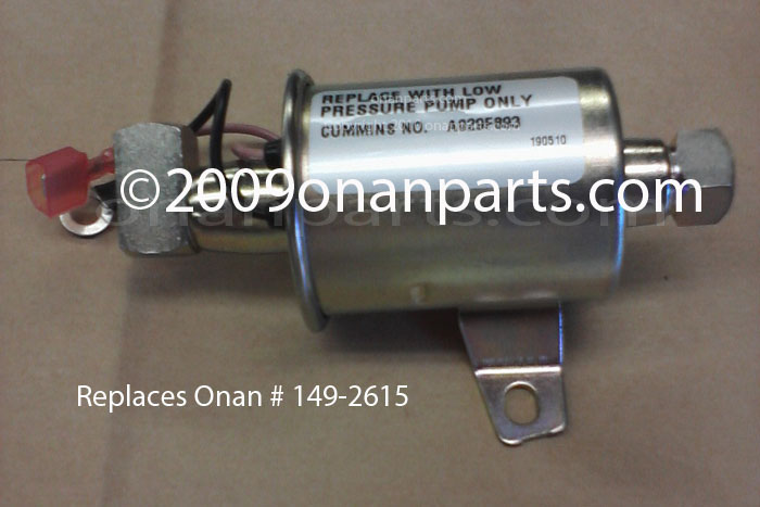 Onan fuel pump