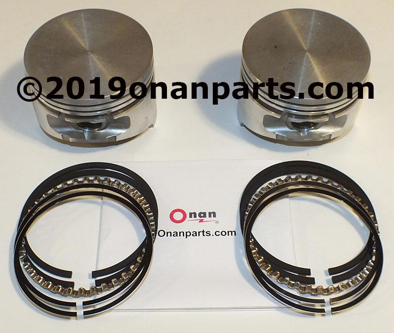 113-0314 STD Ring Set Early Style B & P Series 113-0314 STD